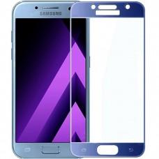 Защитное стекло для Samsung Galaxy A3 (2017) - 3D Full Glue