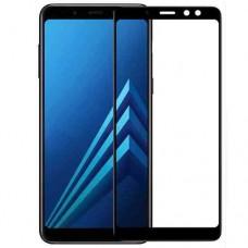 Защитное стекло для Samsung Galaxy A8 (2018) - 3D Full Glue