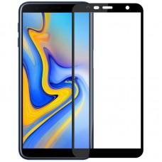 Защитное стекло для Samsung Galaxy J4 Plus (2018) - 3D Full Glue