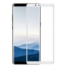 Защитное стекло для Samsung Galaxy A8 (2018) - 5D Full Glue (круглые края)
