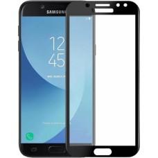 Защитное стекло для Samsung Galaxy J7 (2017) - 5D Full Glue (круглые края)