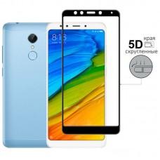 Защитное стекло для Xiaomi Redmi 5 Plus - 5D Full Glue (круглые края)