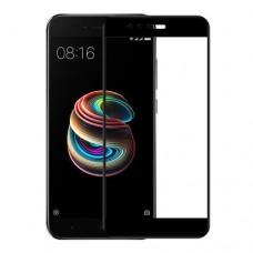 Защитное стекло для Xiaomi Mi 5X - 5D Full Glue (круглые края)