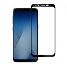 Защитное стекло для Samsung Galaxy A6 Plus (2018) - 3D Full Glue