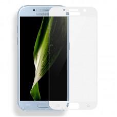 Защитное стекло для Samsung Galaxy A7 (2017) - 5D Full Glue (круглые края)