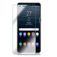 Защитное стекло для Samsung Galaxy A8 Plus (2018) - прозрачное