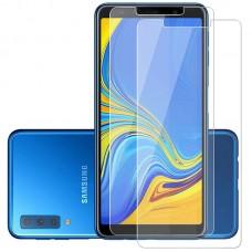 Защитное стекло для Samsung Galaxy A7 (2018) - прозрачное
