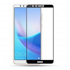 Защитное стекло для Huawei Y9 (2018) - 3D Full Glue