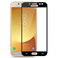 Защитное стекло для Samsung Galaxy J5 Prime - 5D Full Glue (круглые края)