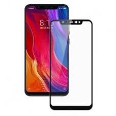 Защитное стекло для Xiaomi Redmi Note 6 Pro - 5D Full Glue (круглые края)